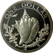 1 Dollar - Elizabeth II (Silver Proof Issue) – reverse