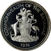 2 Dollars - Elizabeth II (Silver Proof Issue) – obverse