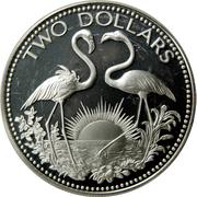 2 Dollars - Elizabeth II (Silver Proof Issue) – reverse