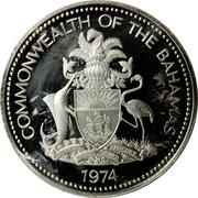 5 Dollars - Elizabeth II (Silver Proof Issue) – obverse