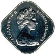 15 Cents - Elizabeth II – obverse