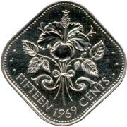 15 Cents - Elizabeth II -  reverse