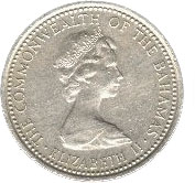 5 Cents - Elizabeth II  – obverse