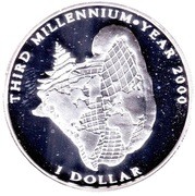 1 Dollar (Third Millennium) – reverse