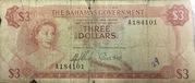 3 Dollars – obverse