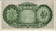 4 Shillings – reverse