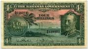 4 Shillings – obverse