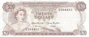 20 Dollars – obverse