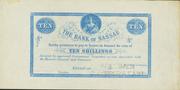 10 Shillings - Victoria (Blue) – obverse