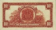 10 Shillings - George V – reverse