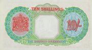 10 Shillings - George VI – reverse