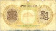 1 Pound - George VI – reverse