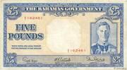 5 Pounds - George VI – obverse
