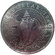 1 Dollar - Elizabeth II – reverse