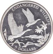 5 Dollars - Elizabeth II (Endangered Wildlife) – reverse