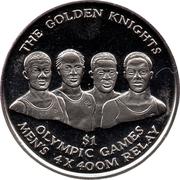 1 Dollar - Elizabeth II (The Golden Knights) – reverse