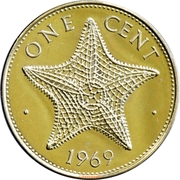 1 Cent - Elizabeth II -  reverse