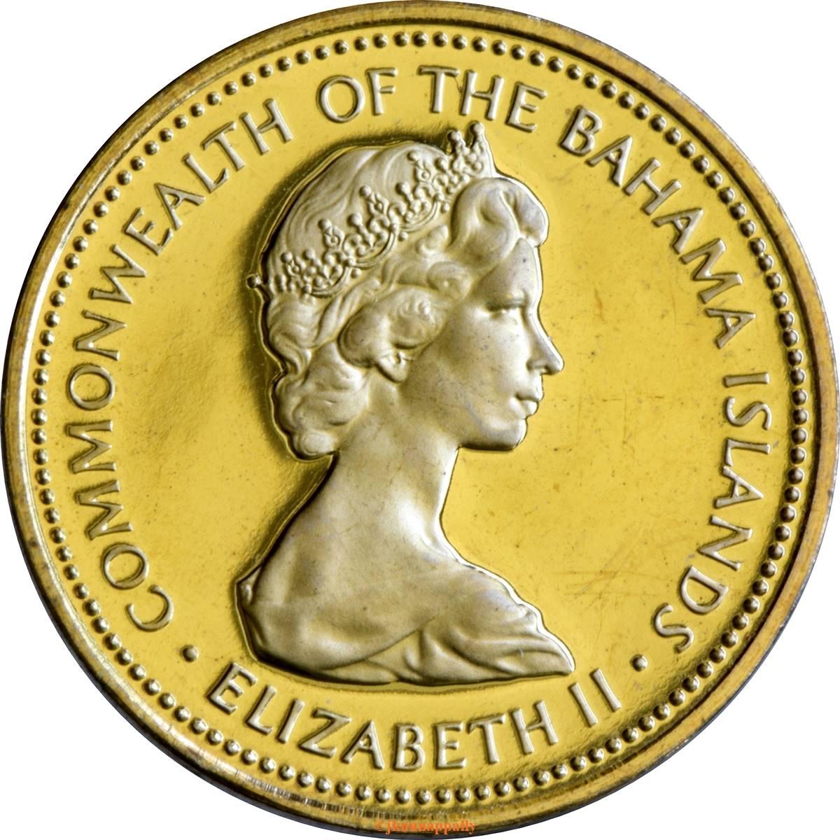 1 Cent - Elizabeth II - The Bahamas – Numista