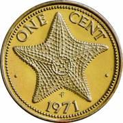 1 Cent - Elizabeth II – reverse