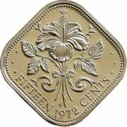 15 Cents - Elizabeth II – reverse
