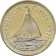 25 Cents - Elizabeth II – reverse