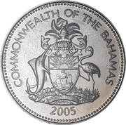 25 Cents (non-magnetic) – obverse