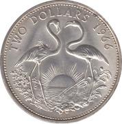 2 Dollars - Elizabeth II – reverse