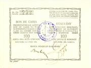 100 Coroane (Baia Mare) – obverse