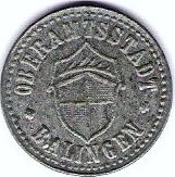 10 Pfennig - Balingen – obverse