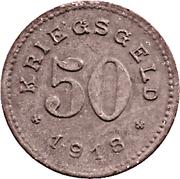 50 Pfennig - Balingen – reverse