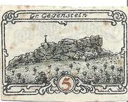 5 Pfennig – reverse