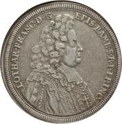 1 Thaler - Lothar Franz von Schönborn – obverse