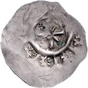 1 Dünnpfennig - Otto II. von Andechs – reverse