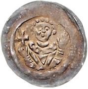 1 Pfennig - Heinrich I. von Bilversheim – obverse