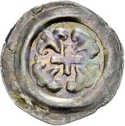 1 Pfennig - Heinrich I von Bilversheim – obverse