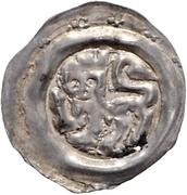 1 Pfennig - Heinrich I. von Schmiedefeld – obverse