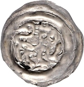 1 Pfennig - Heinrich I von Schmiedefeld – reverse