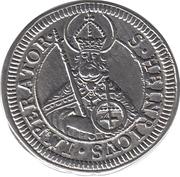 4 Kreuzer - Lothar Franz von Schönborn – reverse