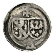 1 Pfennig - Albrecht von Wertheim – obverse