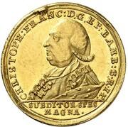 1 Ducat - Christoph Franz von Buseck – obverse