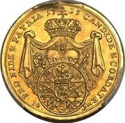 10 Gulden - Friedrich Karl von Schönborn – reverse