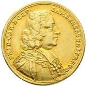 5 Gulden - Friedrich Karl von Schönborn – obverse