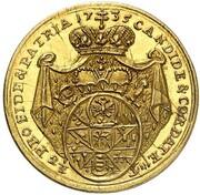 2½ Gulden - Friedrich Karl von Schönborn – reverse
