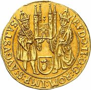 1 Ducat - Johann Philipp von Gebsattel – reverse