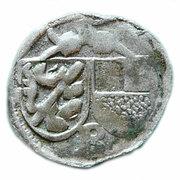 1 Pfennig - Georg I von Schaumberg – obverse