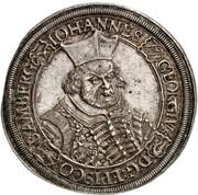 1 Thaler - Johann Georg II. Fuchs von Dornheim – obverse
