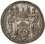1 Thaler - Johann Georg II. Fuchs von Dornheim – reverse