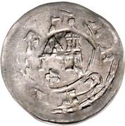 1 Pfennig - Leopold I. von Gundlach – reverse