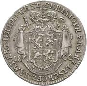 20 Kreuzer - Christoph Franz von Buseck – obverse