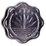 10 Poisha (FAO; large type) – obverse